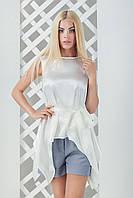 Женская атласная блуза Анита (42-44)