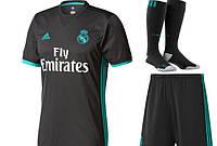 Полный комплект Реал Мадрид  футбольная форма + гетры + печать номера имени 5f3249f6e6f