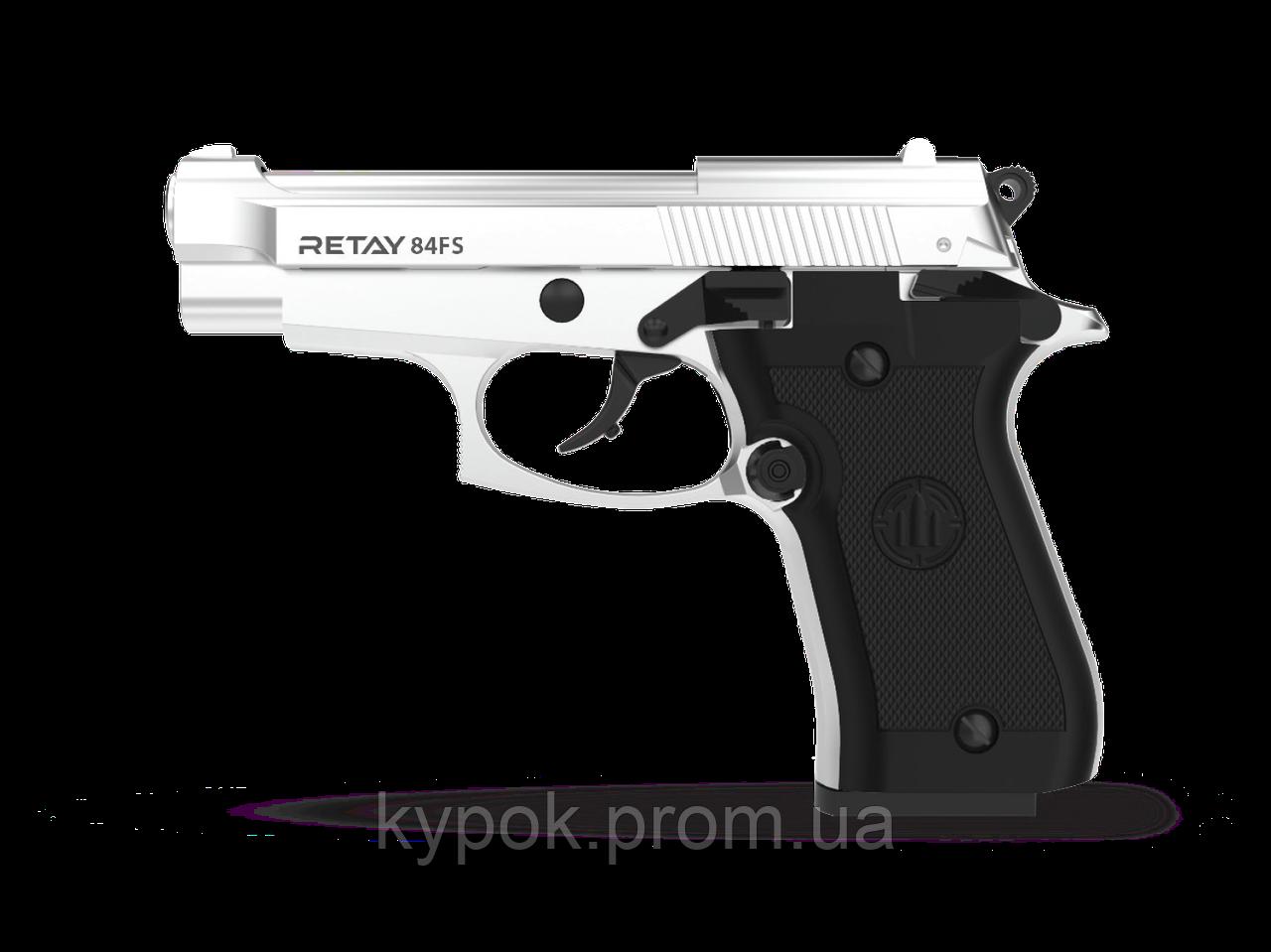 Пистолет стартовый Retay 84FS. Цвет - Chrome