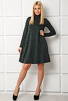 Женское платье Шарла 42-46, Чёрный