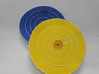 Круг полировочный муслиновый желтый d100