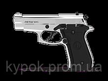 Пистолет стартовый Retay 84FS. Цвет - Nickel