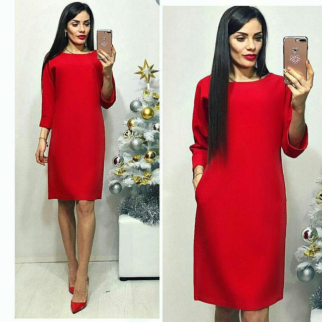 Платье, модель 772, цвет - красный