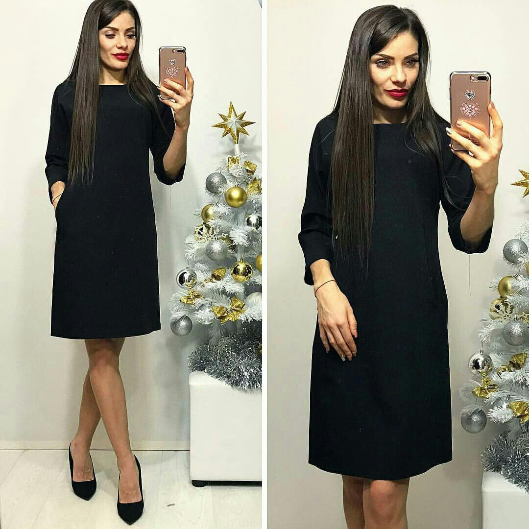 Платье, модель 772, цвет - черный