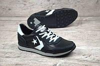 Кроссовки Converse, натур кожа (реплика), фото 1