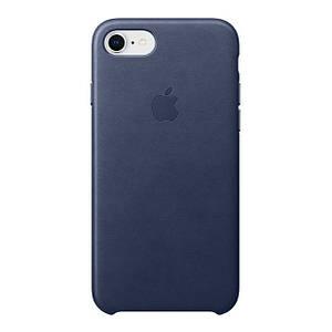 Чехол Apple iPhone 8/7 Leather Midnight Blue (MQH82ZMA)