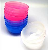 Миска для масок цветн. мал. пластиковая
