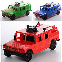 Внедорожник №464 3 цвета (крас.син.зел.) 235x115x100 мм, детская машинка, игрушечная, игрушка для мальчиков