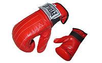 Снарядные перчатки (блинчики) кожа EVERLAST