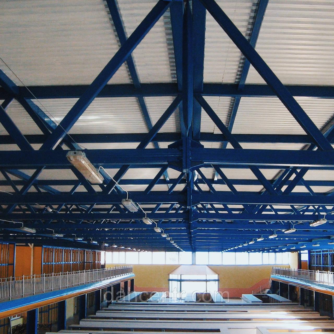 Ангар, металлоконструкция, склад, цех .