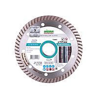 Алмазный диск Distar 1A1R Turbo 125 x 2,2 x 8 x 22,23 Bestseller Universal 3D (10215129010), фото 1