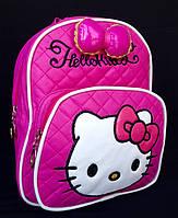 Рюкзак детский для девочки Hello Kitty малиновый