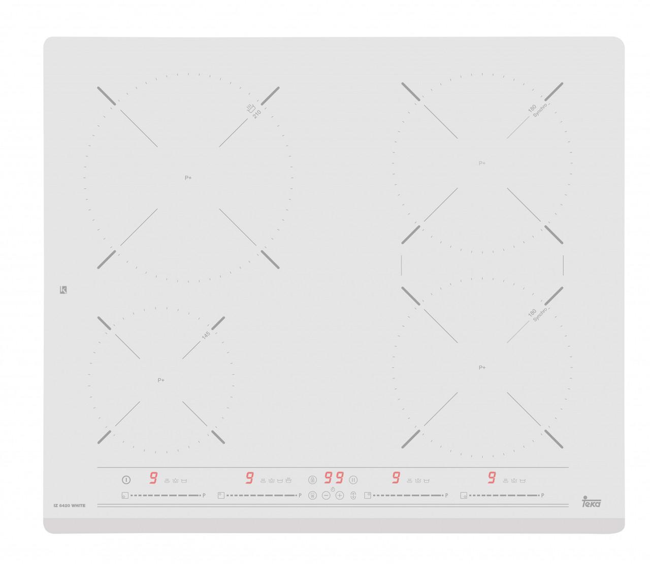 Варочная панель индукционная белая TEKA IZ 6420 WHITE