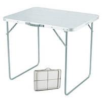 Стол складной для пикника 80х60см цвет мрамор
