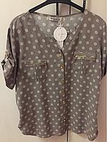Рубашка женская горох