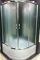 Душевая кабина SANTEH 9021-F 90х90х195 глубокий поддон, матовое стекло
