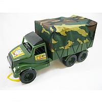 ВОЛАНТ ФУРГОН ВОЕННЫЙ АВТО АРТ.5009, детский фургончик, игрушечная машинка, игрушка, военный фургон