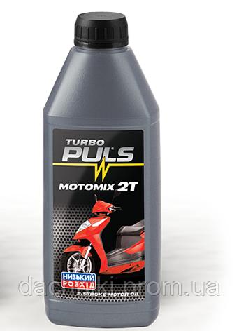 Минеральное моторное масло PULS 2T (SAE 30 API TC JASO FB) 1л , фото 2