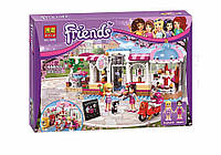 Детский конструктор Friends 104964 Кондитерская (аналог LEGO Friends 41119) 444 дет