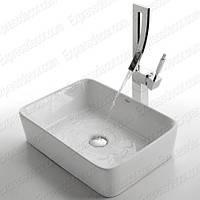 Kомплект для ванной комнаты C-KCV-121-1200CH White Ceramic, Kraus (USA)