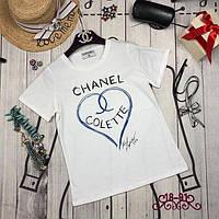 Стильная женская футболка Chanel , фото 1