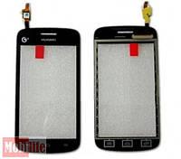 Сенсорное стекло (тачскрин) для Huawei Y310, Y311 black