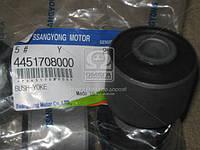Салейнтблок нижнего рычага (крепления кронштейна) (производство SsangYong) (арт. 4451708000), AAHZX