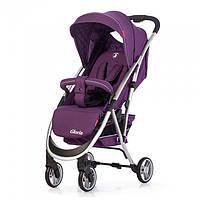 Прогулочная детская коляска CARRELLO Gloria CRL-8506 Ultra Violet лен, резиновые колеса
