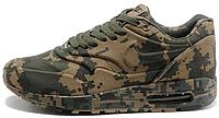 Мужские кроссовки Nike Air Max 1 Сamouflage Найк Аир Макс 1 камуфляжные