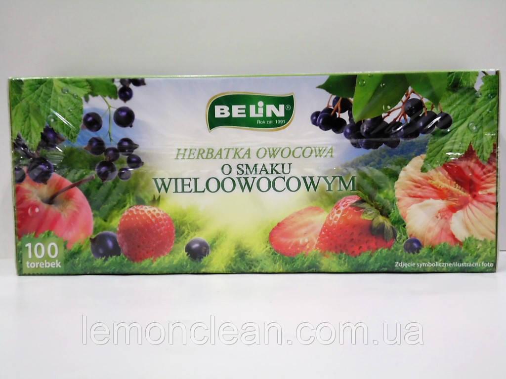Чай Belin мультифруктовый 100 пакетиков