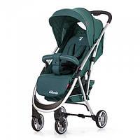 Детская прогулочная коляска CARRELLO Gloria CRL-8506 Jasper Green лен, резиновые колеса