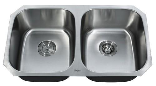 Мойка кухонная (нержавейка) KBU22 Kitchen Sink, Kraus (USA)