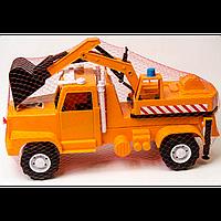 Вольво-М эксковатор 276 размер 44-18-26 см, детская машинка, игрушка для мальчиков