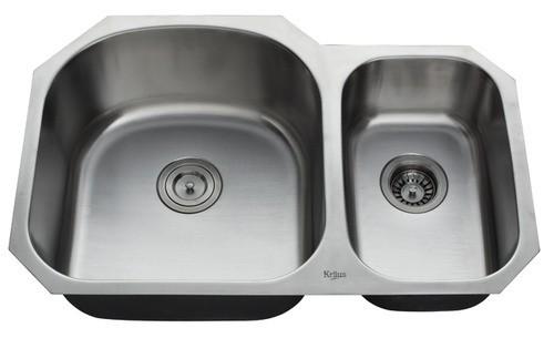 Мойка кухонная (нержавейка) KBU23 Kitchen Sink, Kraus (USA)