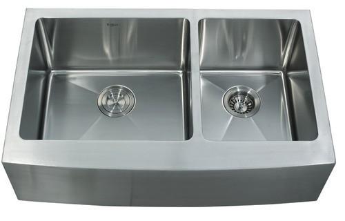 Мойка кухонная (нержавейка) KHF203-33 Kitchen Sink, Kraus (USA)