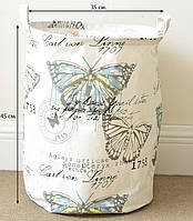Корзина для игрушек на завязках Butterfly  Berni