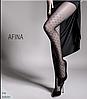 Женские колготки с рисунком AFINA 40 model 1