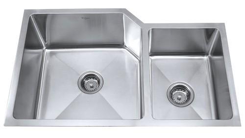 Мойка кухонная (нержавейка) KHU123-32 Kitchen Sink, Kraus (USA)