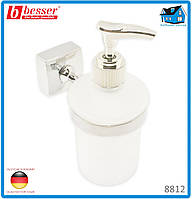 Дозатор Besser 8812 для жидкого мыла 7*11.5*15.5см