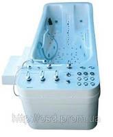 Анатомическая ванна с подводным массажем высокого давления AQUADELICIA VIII