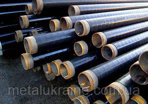 Труба стальная в битумно полимерной гидроизоляции 48мм ВУС изоляция