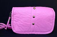 Сумка детская розовая 2 отдела, фото 1