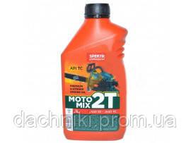 Масло 2-х тактное SPEKTR (SAE 30 / Jaso FC / API TC)емкость - 1 литр, фото 2