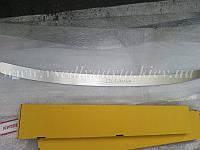 Накладка на бампер Skoda OCTAVIA II FL универсал с 2009 г. (NataNiko)