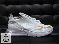Мужские кроссовки найк Nike  Air Max 270-Текстиль,подошва пенка + Air вставка на заднике р:40-45 Вьетнам ТОП
