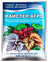 Удобрение для растений Mастер-Агро для декоративно-лиственных растений, 25 г