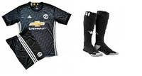 Полный комплект Манчестер Юнайтед: футбольная форма + гетры + печать номера/имени