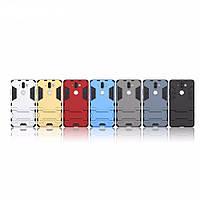 PC + TPU чехол Metal armor для Nokia 7 (7 цветов)