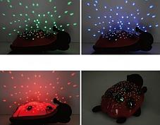 Божья коровка ночник-проектор звездного неба, музыкальная / cartoon ladybird night sky constellation, фото 3
