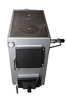 Гончар 18 кВт Твердотопливный котел на дровах с плитой , фото 1